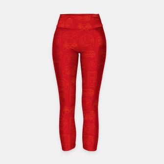 Miniatur Gamers' Controllers - Rogue Red Yoga Pants, Live Heroes