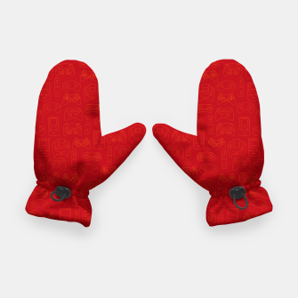 Miniatur Gamers' Controllers - Rogue Red Gloves, Live Heroes