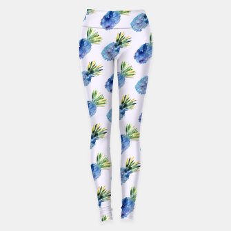 Miniaturka Blue pineapples Leggings, Live Heroes