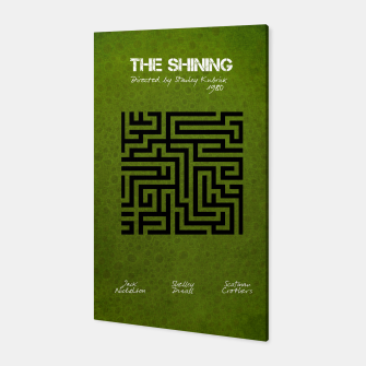 Miniaturka The shining by Stanley Kubrick Canvas, Live Heroes