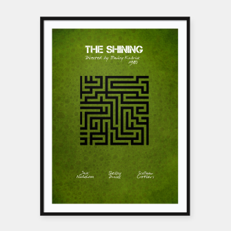 Thumbnail image of The shining by Stanley Kubrick Plakaty w ramie , Live Heroes