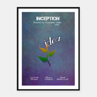 Thumbnail image of Inception by Christopher Nolan Plakaty w ramie , Live Heroes