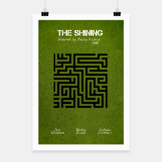 Thumbnail image of The shining by Stanley Kubrick Plakat, Live Heroes