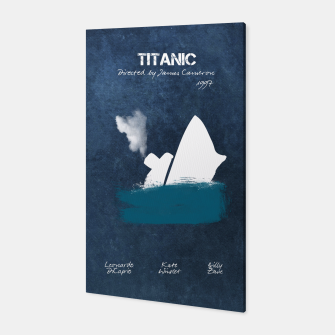 Miniaturka Titanic by James Francis Cameron Canvas, Live Heroes