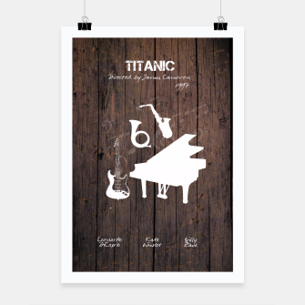 Thumbnail image of Titanic by James Francis Cameron Plakat, Live Heroes