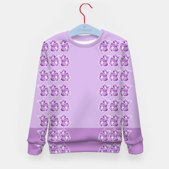 Thumbnail image of Periwinkle Floral Kid's Sweater, Live Heroes