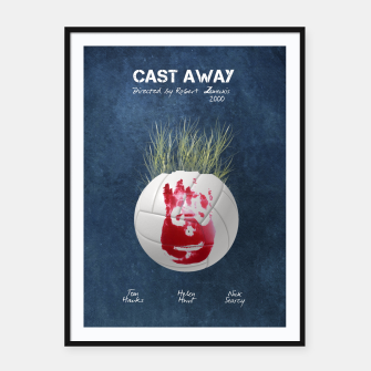 Thumbnail image of Cast away by Robert Zemeckis  Plakaty w ramie , Live Heroes