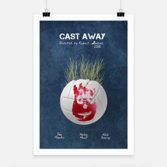Thumbnail image of Cast away by Robert Zemeckis  Plakat, Live Heroes