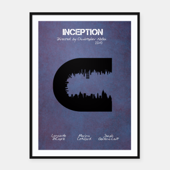 Miniatur Inception by Christopher Nolan Plakaty w ramie , Live Heroes