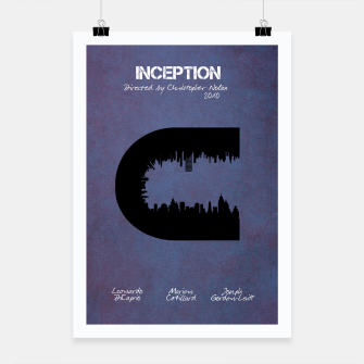 Thumbnail image of Inception by Christopher Nolan Plakat, Live Heroes