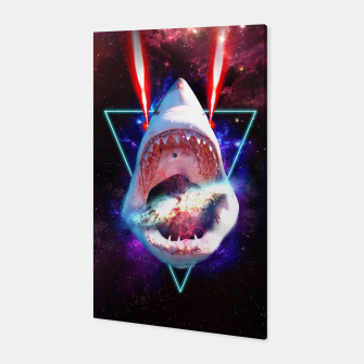 Miniaturka COSMIC SHARK Canvas, Live Heroes