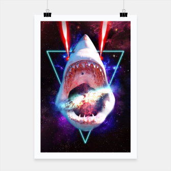 Thumbnail image of COSMIC SHARK Poster, Live Heroes