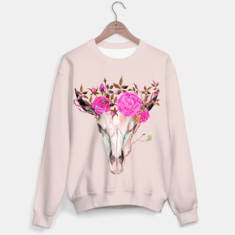 Thumbnail image of Flowery skull Sweater, Live Heroes