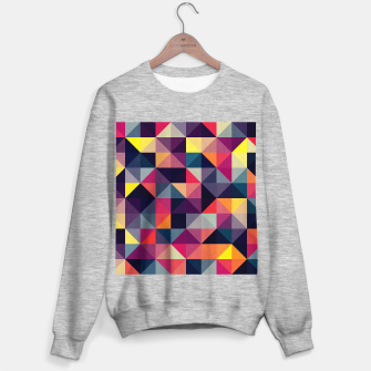 Miniatur Colorful and geometric pattern Sweater regular, Live Heroes