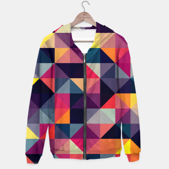 Miniature de image de Colorful and geometric pattern Hoodie, Live Heroes