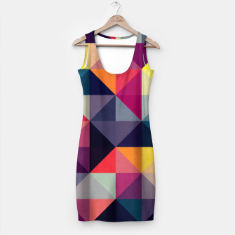 Miniatur Colorful and geometric pattern Simple Dress, Live Heroes