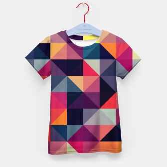 Miniatur Colorful and geometric pattern Kid's T-shirt, Live Heroes