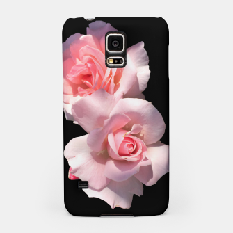 Miniatur Beautiful pink Roses  Samsung Case, Live Heroes