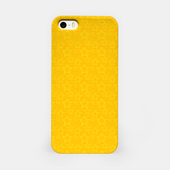 Imagen en miniatura de Yellow print with stars iPhone Case, Live Heroes