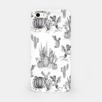 Imagen en miniatura de Watercolor cactuses print iPhone Case, Live Heroes