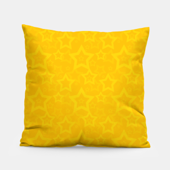 Miniaturka Yellow print with stars Pillow, Live Heroes