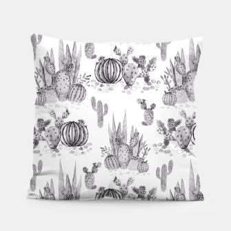 Miniaturka Watercolor cactuses print Pillow, Live Heroes