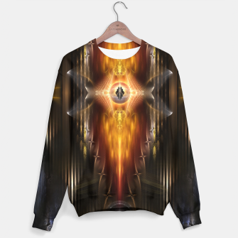 Miniature de image de The Temple Of Golden Fire KM Sweater, Live Heroes
