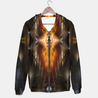 Thumbnail image of The Temple Of Golden Fire KM Hoodie, Live Heroes