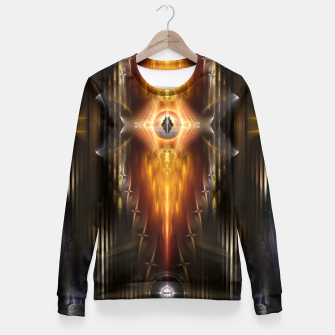 Miniatur The Temple Of Golden Fire KM Fitted Waist Sweater, Live Heroes