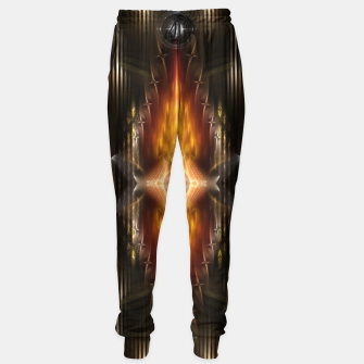 Thumbnail image of The Temple Of Golden Fire KM Sweatpants, Live Heroes