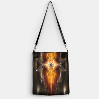 Thumbnail image of The Temple Of Golden Fire KM Handbag, Live Heroes