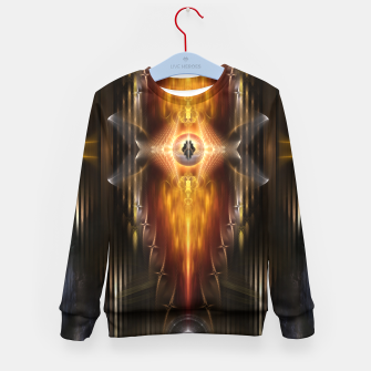 Miniatur The Temple Of Golden Fire KM Kid's Sweater, Live Heroes