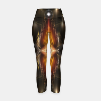 Miniatur The Temple Of Golden Fire KM Yoga Pants, Live Heroes