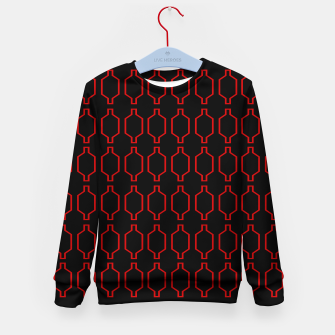 Thumbnail image of Luxury Kids Sweater : Morocco redblack, Live Heroes