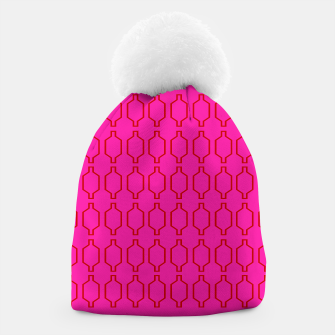 Miniatur Designers Beanie Morocco Pink Ethno, Live Heroes