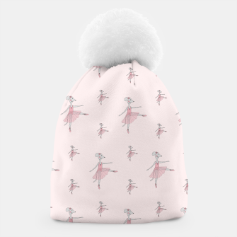 Miniatur Ballerina Mouse - Pink Beanie, Live Heroes