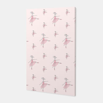 Miniatur Ballerina Mouse - Pink Canvas, Live Heroes