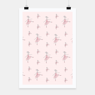 Thumbnail image of Ballerina Mouse - Pink Poster, Live Heroes