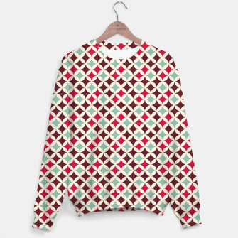 Miniature de image de Colorful Retro Pattern 2 Sweatshirt, Live Heroes