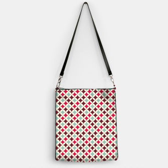 Thumbnail image of Colorful Retro Pattern 2 Handtasche, Live Heroes
