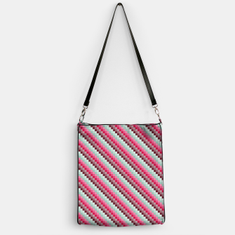 Thumbnail image of Colorful Retro Pattern 3 Handtasche, Live Heroes