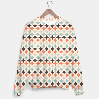 Miniature de image de Colorful Retro Pattern 4 Sweatshirt, Live Heroes