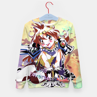 Miniatur Slayers Lina Inverse watercolor version Kid's Sweater, Live Heroes