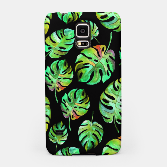 Miniatur Tropical leaves Samsung Case, Live Heroes