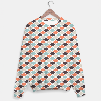 Miniature de image de Colorful Retro Pattern 5 Sweatshirt, Live Heroes