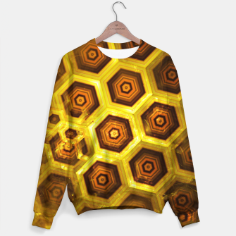 Miniature de image de Gold Honeycombs Sweater, Live Heroes