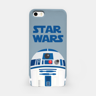 Miniatur R2D2 Star Wars iPhone Case, Live Heroes
