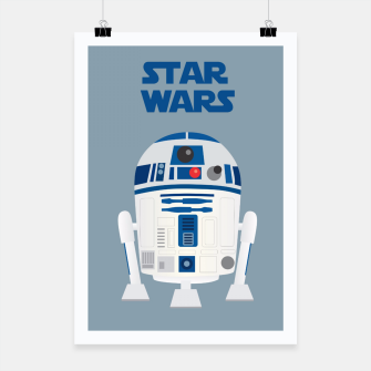 Thumbnail image of R2D2 Star Wars Poster, Live Heroes