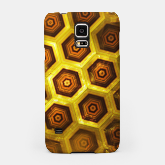 Miniatur Gold Honeycombs Samsung Case, Live Heroes