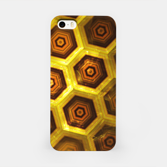 Miniatur Gold Honeycombs iPhone Case, Live Heroes